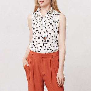 Anthropologie MAEVE Float On Balloon Print Top